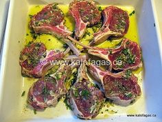 Follow One of the most enjoyable grilling centerpieces for Greeks (or anyone that enjoys the outdoor grill) would have to be lamb chops. There are many approaches…grill the whole rack and cut into individual chops, add an herb & crumb crust, marinades, spice variations….you name it! Like any dish that turns out wonderfully, the key …