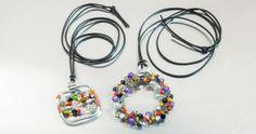 Bijoux en perles et fil d'aluminium - Loisirs créatifs à petits prix VBS Hobby Service