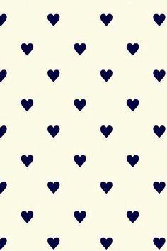 Fond d'écran cœurs noirs