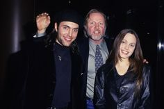 Jon Voight and Son James and Angelina Jolie (Photo by S. Granitz/WireImage)