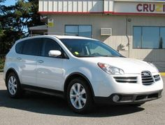 2006 Subaru Tribeca LTD SUV, I know a lot of critics thought the front of the Tribeca was ugly, but I liked it & I still like it today!!