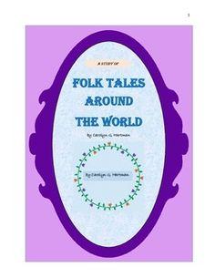 Folk Tales Around the World--a comprehensive study for elementary students Teacher Page, My Teacher, Creative Class, Creative Writing, Unit Plan, Kids Writing, Elementary Teacher, Folk, Around The Worlds