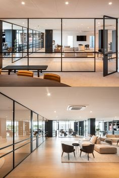Architecture: RR Interieur, Knokke/BE | Metal construction: Ziltener AG, Aarau/CH | Door systems: Jansen Art'15 | Manufacturer: Jansen AG, Oberriet/CH | Picture credit: WIT photography & videography / Fo Le Fer Building Systems, Steel Doors, Supply Chain, Stainless Steel