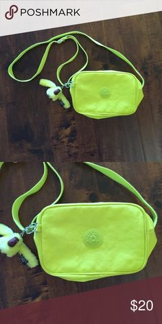 NWOT Kipling purse Neon yellow NWOT Kipling purse. Only avail to 9/19 Kipling Bags Crossbody Bags