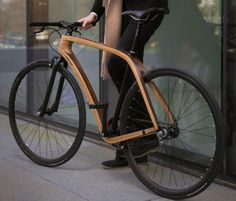 Wooden bike by Tratar Bikes