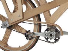 Artisanal Wood Bicycles, The Latest In Cycling by Cyclowood Wooden Bicycle, Wood Bike, Electric Mountain Bike, Bike Components, Pedal Cars, Bicycle Design, Bike Life, Wooden Frames, Cool Cars