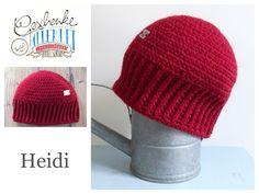 Tunella's Geschenkeallerlei präsentiert: das ist Heidi, eine geniale gehäkelte Haube/Mütze aus einer Alpaka/Wolle/Acryl-Mischung - du kannst dich warm anziehen, dank sorgfältigem Entwurf, liebevoller Handarbeit und deinem fantastischen Geschmack wirst du umwerfend aussehen #TunellasGeschenkeallerlei #Häkelei #drumherum #Beanie #Pudelhaube #Haube #Mütze #Alpaka #Wolle #Heidi