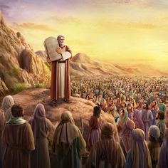 The work that Jehovah did upon the Israelites established among humanity God's earthly place of origin, which was also the sacred place where He was present. He confined His work to the people of Israel. Bible Quotes Images, Bible Pictures, Jesus Pictures, Bible Prayers, Bible Scriptures, Arte Judaica, La Sainte Bible, Jesus Christ Images, Christian Artwork