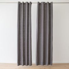 If you know about interiors you'll know that curtains define a room. Our new range of luxury linen curtains are available ready made as well as bespoke, and are the perfect finishing touch for your interior. Linen Curtains, Curtain Fabric, Linen Bedding, Bath Linens, Kitchen Linens, Shades Of White, Table Linens, Bespoke, Textiles