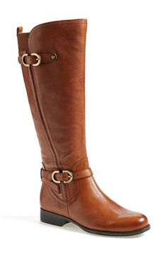 Naturalizer 'Jennings' Knee High Boot (Women) (Wide Calf) available at #Nordstrom