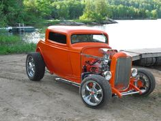 1932 Ford Hot Rod 3Window coupe