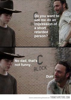 funny quotes from walking dead | 17 February, 2013 in Funny , Pictures | Comment