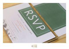 clayton + cath || wedding invite || geliefde studio Rsvp, Invite, Wedding Invitations, Stationery, Studio, Stationery Shop, Paper Mill, Wedding Invitation Cards, Stationery Set