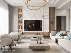Living area on Behance Modern Tv Room, Living Room Modern, Home Living Room, Living Room Decor, Living Area, Living Room Interior, Living Room Tv Unit Designs, Appartement Design, Home Room Design