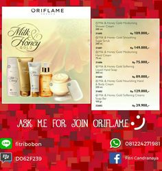 Milk and honey gold by oriflame