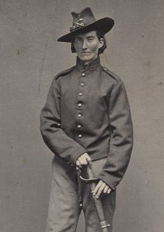 An estimated 400 women disguised themselves as soldiers during the war. These images from the Minnesota History Center's exhibit show Frances Clayton, who fought at the battle of Shiloh and Murfreesboro, where her husband was killed.