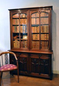 Antieke boekenkast | The social Web moodboard - Stein Bosch & Arnie ...