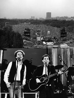 On Saturday, Sept. 19, 1981, 'The Concert in Central Park' reunited Simon and Garfunkel after eleven years. I was there and it was a great concert. Over 500,000 people attended the free event.