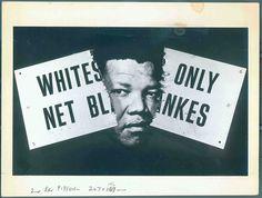 Peter Kennard - Nelson Mandela