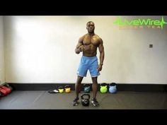 ▶ LiveWire 30 Day Challenge. Part 2: Full Body Kettlebell Workout. - YouTube