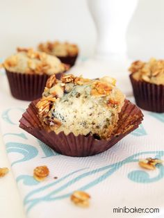 Post image for Mini Blueberry Granola Muffins {Gluten-Free}
