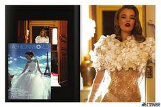 #EtienneJeanson #bridal #lace #dress #Collection #broceliande #Fashionworld #Magazine #wedding #mariage