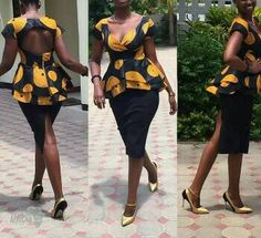 This item is carefully handmade and suits all body shapes as the Peplum feature enhances the body curves It is handmade in 7-10 working business days before shipping Shipping usually takes 10-15 business days but with an upgrade of $30 from standard shipping the item will arrive in 5-7 business days If you have any inquiries about the item please feel free to start an etsy conversation