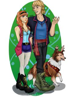 Modern Fashion - Kristoff and Anna by TheCyberZombie on DeviantArt
