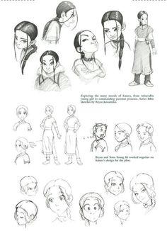 Katara: Art of the animated series