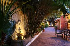 One of several intimate French Quarter courtyards which hold year-round wedding ceremonies.