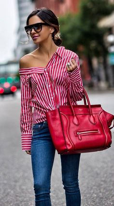 32 Ideas How To Wear Casual Outfits Chic Shirts Vintage Style Outfits, Classy Outfits, Chic Outfits, Spring Outfits, Fashion Outfits, Fashion Mode, Look Fashion, Womens Fashion, Casual Street Style