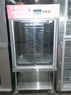 Used Broaster vertical Rotisserie /Contact us for quotes, pricing and product details. / by AIMCO Equipment Company. Used Equipment, Oven Range, Lockers, Locker Storage, Quotes, Home Decor, Quotations, Decoration Home, Room Decor