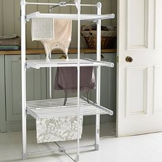 Bamboo Folding Laundry Clothes Airer Dryer Organizer Rack 22 Pegs
