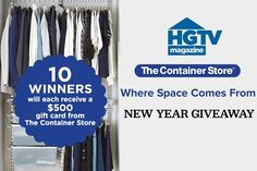 85 Best HGTV Sweepstakes images in 2019 | Hgtv, Free stuff, Cash prize