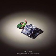 """. 9.21 mon """"Insomniac nights"""" . 「くっそ!目が冴えて全然眠れない!」 . #眠れないのは枕のせい #キシリトールガム #XylitolGum ."""