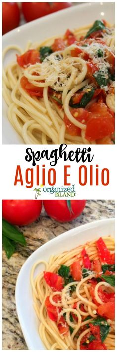 This Spaghetti Aglio E Olio Recipe is so easy and inexpensive! Perfect for a wee. This Spaghetti Aglio E Olio Recipe is so easy and inexpensive! Perfect for a weeknight dinner! Yummy Pasta Recipes, Quick Recipes, Vegetarian Recipes, Dinner Recipes, Cooking Recipes, Simple Recipes, Amazing Recipes, Delicious Recipes, Tasty