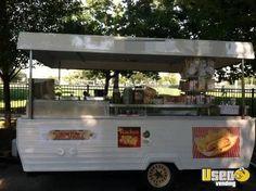 diy Food for sale - Street Food Concession Trailer for Sale in Illinois! Food Carts For Sale, Food Trailer For Sale, Pop Up Trailer, Trailers For Sale, Dog Trailer, Camper Trailers, Coffee Trailer, South Korean Food, Korean Street Food