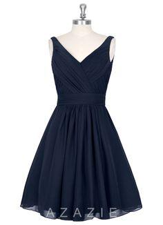 AZAZIE GRACE - bridesmaids dress! @rachaels09 @jillinkla what do u think. It'll be in chocolate brown..