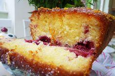 Be Truly Scrumptious : Orange & Lemon Drizzle Cake with Raspberry Gems ~