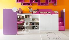 Modern teenage and children's bedroom furniture by Bambini