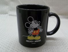 Disney's Mickey Mouse Coffee Mug Black Cup