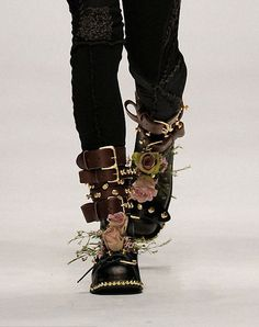 wink-smile-pout:  Shoes at J.W.Anderson Menswear Fall 2010