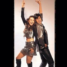 Shah Rukh Khan and Karisma Kapoor - Dil To Pagal Hai (1997)
