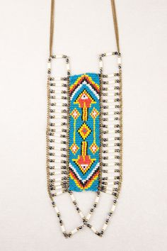 Navajo Breastplate Necklace.  Tribal jewellery at Tree of Life