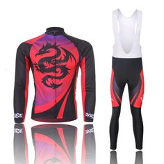 (Shipping with Express or Fashion Cycling Jerseys Jersey For Men Long  Sleeve Set Pants or bib vest breathable windbreaker perspiration performance  -- Visit ... e7d89d89a