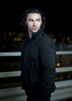Aidan Turner ---- swoon worthy ---- He's a dwarf in The Hobbit...he's Irish...a werewolf AND a vampire?!?!? What more could you ask for? Gahhhhhhh......