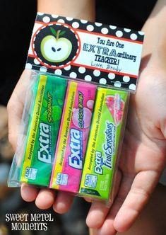 "Sweet Metel Moments: Free Printable - Teacher Appreciation Gift - ""Extraordinary Teacher"" This."