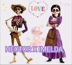 Héctor x Imelda  #Disney #Coco
