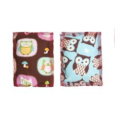 Priscilla's Handmade Blue and Brown Owls Catnip Pillow Toys Approx. 4 X 6 Inches * Continue to the product at the image link. (This is an affiliate link and I receive a commission for the sales)