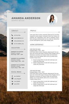 professional cv - resume template manager - creative resume examples - resume layout template Modern Resume Format, Best Resume Format, Resume Layout, Modern Resume Template, Cv Template, Resume Templates, Layout Template, Cv Format In Word, Best Cv